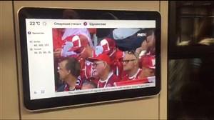 پخش زنده بازیهای جام جهانی 2018 در متروهای روسیه