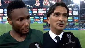 صحبتهای میکل و دالیچ پس از بازی کرواسی و نیجریه