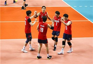 پایان حسرت ۱۲ هفته ای والیبالیست های کره ای