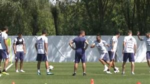 اولین تمرین تیم ملی آرژانتین بعد از بازی با ایسلند