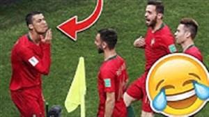 صحنه های جالب در جام جهانی 2018 تا این لحظه