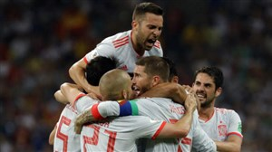 هدف اسپانیا مقابل ایران؛ اول برد، بعد گلباران!