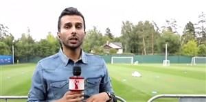 ارتباط مستقیم با میثاقی در کمپ تیم ملی ایران