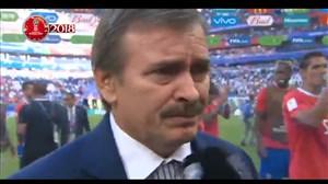 صحبتهای مربی کاستاریکا بعد از بازی با صربستان