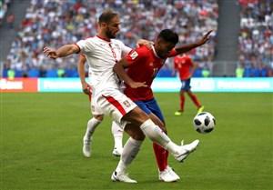 صربستان 1 کاستاریکا 0؛ خبری از شگفتی نبود