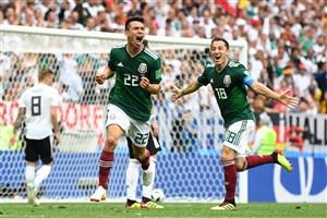 مکزیک پایه گذار احتمالی دیدار انتقامی برزیل و آلمان