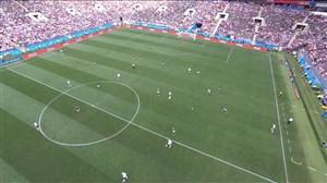 خلاصه نیمه اول آلمان - مکزیک (جام جهانی روسیه)