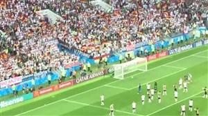 جو استادیوم بعد از شکست تاریخی آلمان مقابل مکزیک (اختصاصی)