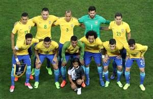 مسیر صعود تیم ملی برزیل به جام جهانی روسیه