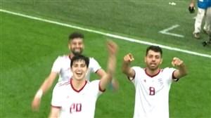 افزایش صدای صوت تهران در پایان بازی ایران - مراکش