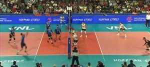 رالی تماشایی بازیکنان ایران مقابل آمریکا