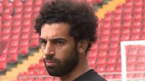 محمد صلاح و آمادگی و حضور در تمرینات تیم ملی مصر