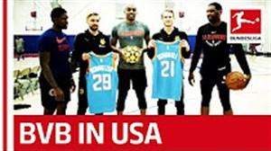 اردوی تیم دورتموند به آمریکا