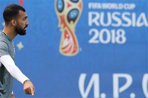روزبه چشمی ادامهی جام جهانی را از دست داد