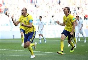 سوئد ۱- کره جنوبی ۰؛ پیروزی با VAR