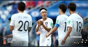 تمرین کرهای ها قبل از مصاف با آلمان
