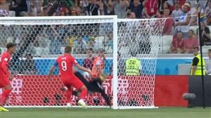 گل اول انگلیس به تونس (هری کین)