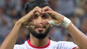 گل اول تونس به انگلیس (ساسی)