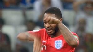 حمله پشه های مزاحم به بازیکنان انگلیس و تونس