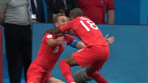 گل دوم انگلیس به تونس (هری کین)