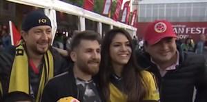 بدل مسی در میان هواداران جام جهانی 2018