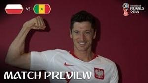 صحبتهای لواندوفسکی قبل از بازی با سنگال