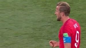 عملکرد هری کین در مقابل تونس