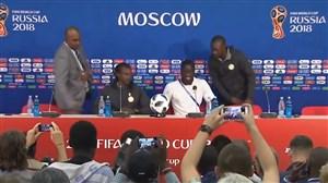 کنفرلنس خبری پیش از بازی لهستان و سنگال