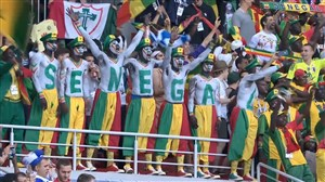 واکنش های هواداران پس از بازی لهستان - سنگال