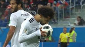 گل اول مصر به روسیه (صلاح-پنالتی)