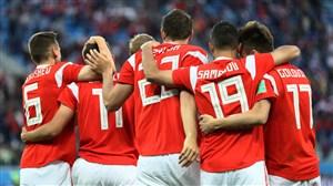 گزارش زنده؛ روسیه 0- مصر 0