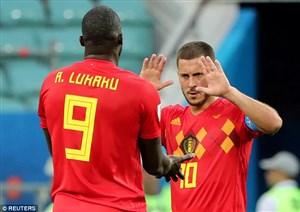 واکنش هازارد به خبر انتقاد وی از لوکاکو در بازی با پاناما