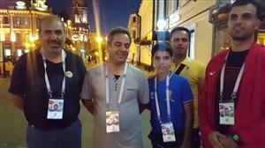 گفت و گو با محمود رفیعی ، یاسر همرنگ و پدر محمدرضا منصوری در روسیه