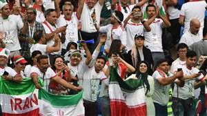 صحبت های هواداران تیم ملی در ورزشگاه کازان