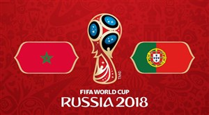 خلاصه بازی پرتغال 1 - مراکش 0 (جامجهانی روسیه)