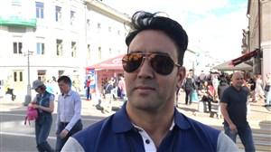 مصاحبه اختصاصی با پوریاپورسرخ درمورد بازی ایران-اسپانیا