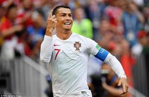 عملکرد کریستیانو رونالدو در برابر تیم ملی مراکش
