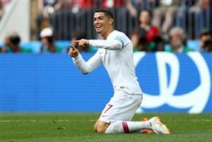 ستارههای تاریخ پرتغال علیه ایران