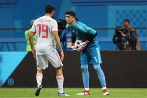 ایران 0- اسپانیا 1؛ یک گام تا تاریخسازی