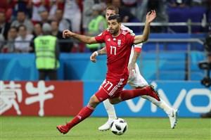 از خود گذشتگی طارمی علیه گلزنی ایران
