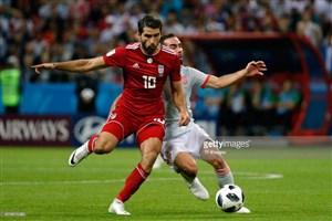 انصاریفرد: فکر کردم شوتم به اسپانیا گل شد