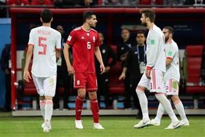 بررسی عملکرد درخشان عزتاللهی در بازی با اسپانیا