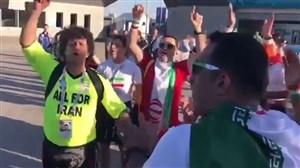 شور و حال هواداران ایرانی در روسیه
