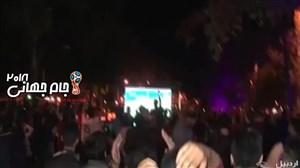 رضایت مردم ایران از بازی شجاعانه تیم ملی