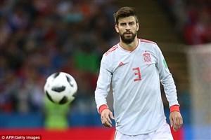 بمناسبت خداحافظی جرارد پیکه از بازی های ملی اسپانیا