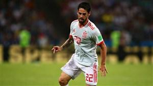 عملکرد ایسکو در بازی مقابل ایران
