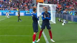 گل اول فرانسه به پرو (ام باپه)