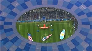 ورود و سرود دوتیم آرژانتین - کرواسی