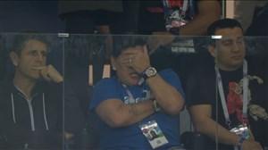 افسوس مارادونا روی موقعیت از دست رفته مسی