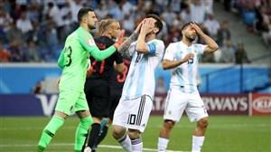 آرژانتین صفر- کرواسی 3؛ پایان مسی و جام جهانی؟